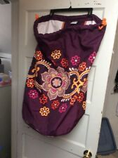 Brand New Vera Bradley Safari Sunset Large Laundry Bag Nwot US4