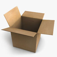 Cardboard Packing Boxes 9x9x9 Inch Single Wall Corrugated Cardboard