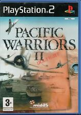 PS2 - Pacific Warriors II: Dogfight (Sony PlayStation 2, 2004) - Euro Version