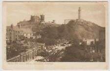 Midlothian postcard - Calton Hill & Nelson Monument, Edinburgh