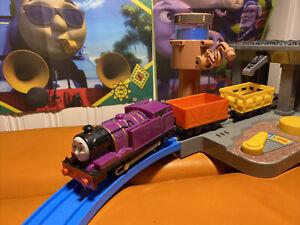 trackmaster thomas the tank engine battery train Ryan and Trucks
