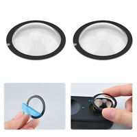 2pcs Lens Protective Cover Sticky for Insta360 ONE X2 Action Camera RC Parts