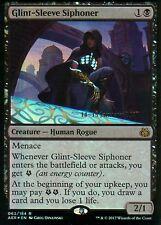 Glint-Sleeve siphoner foil | nm | versiones preliminares Promo | Magic mtg