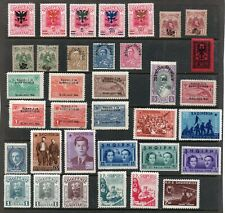 Albania 1920- Old collection of 35.Overprint.MH.Very Fine