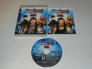 WWE Smackdown vs. Raw 2008 Playstation 3 PS3 Video Game Complete