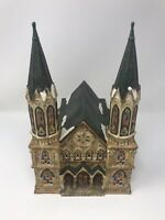 CeramicSt. Augustines Cathedral ~ Santas Workbench Collection Classic Light Up