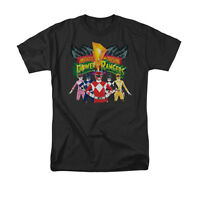 POWER RANGERS RANGERS UNITE Licensed Adult Men's Graphic Tee Shirt SM-6XL