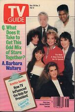 TV Guide Magazine Nov. 26-Dec. 2 1988 Barbara Walters 072017nonjhe
