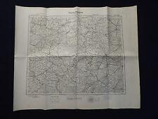 Landkarte M 52 Halle a.d. Saale, Nordhausen, Weissenfels, Halbertsadt, von 1945