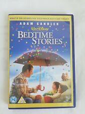 VGC Disney Bedtime Stories DVD Adam Sandler Kids Family Adventure Movie PG