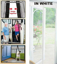 Magic Curtain Door Mesh - Magnetic Hands Free Fly Mosquito Bug Insect Screen (W)