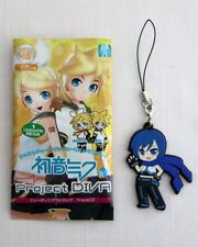 VOCALOID PROJECT DIVA Trading Strap 02 KAITO Rubber Fastener Keychain