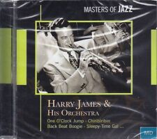 Masters of Jazz + CD + Harry JAMES and his Orchestra + album fantastico con 13 canzoni