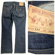 TRUE RELIGION Jeans Mens 32x36 XXX Wild Bill Boot Cut - hot!! rare NEW