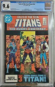 Tales of Teen Titans 44 CGC 9.6 Dick Grayson Becomes Nightwing