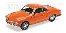 VW Karmann Ghia Coupe 1970 orange 1:18 Minichamps  neu & OVP 155054020