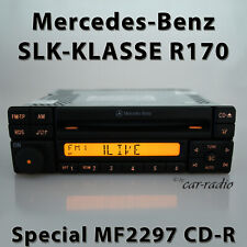 Original Mercedes Special MF2297 CD R170 Radio 1-DIN SLK Class C170 Car Radio