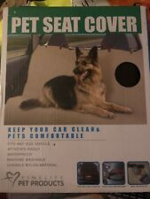 FineLife Waterproof Pet Seat Cover Black