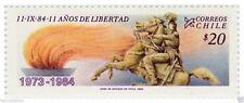 Chile 1984 #1111 Undecimo Aniversario del Gobierno Militar MNH