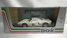 1/43 BOX MODEL 8456 FORD GT 40 #15 G. LIGIER / B. GROSSMAN 24H LE MANS 1966