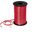 Car Dealer 3/16 Curling Red Ribbon Spool Balloon String 500 Yard Party