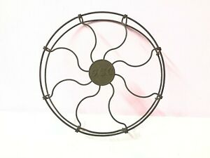 GEC Table Fan Brass Round Grill Cage For Spare Antique Vintage Old Collectible