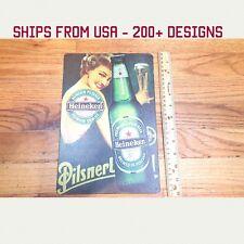 Heineken Sign Heineken Beer Sign Metal Heineken Garage Sign Tin Man Cave Sign