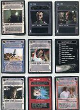Star Wars CCG Jedi Pack Complete 11 Card Set