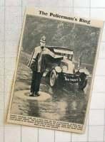 1923 New Traffic Idea Being Tried At Snaresbrook Essex