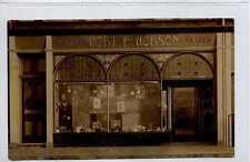 (Go641-288) Real Photo of Shopfront, Newbegin, HORNSEA c1905 Unused VG+