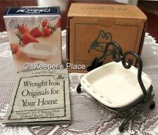 Longaberger Collectors Club Miniature 8 x 8 Baking Dish Wrought Iron Holder New