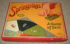 Springrings-Vintage 1930's Tiddly Winks Gioco tipo-SPEARS