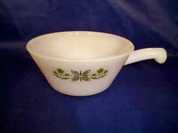 Fire King Ovenware Meadow Green 12 oz Handled Casserole Anchor Hocking 1967-1977