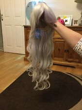 Lush Wigs Silver Grey Long Wig Brand New And Unworn
