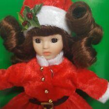 Marie Osmond Christmas 6in Greeting Card Porcelain Doll by L L Knickerbocker Ltd