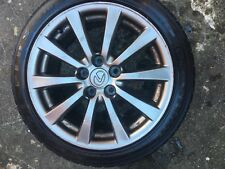 Set of 4 Lexus IS220D 17inch alloy wheels and branded tires.