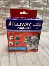 Feliway D89410M 30 Day Multicat Diffuser Kit - 48ml