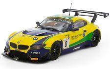 "** TOP Tuning **  Carrera Digital 132  -  BMW Z4 GT3   -  ""Brasil""  No.0   C3721"