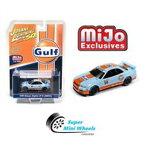 Johnny Lightning 50th Anniversary 1999 Nissan GT-R R34 GULF Mijo Exclusive 1:64