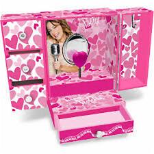 Disney Violetta Musical Joyero-dimensiones Aprox: 36x23x14 Cm