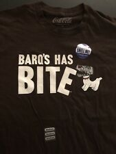 "Coke Cola ""BARQ'S Has Bite"" Rootbeer T Shirt Men Size Medium New Scratch & Sniff"