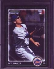 Ike Davis 2010 Bowman Chrome Baseball Rookie Card # 203 New York Mets 1B NM+ !