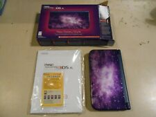 NEW Nintendo 3DS XL Galaxy Style COMPLETE w/ Box Manuals & AR Cards (Purple)