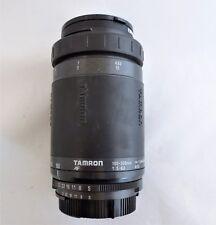 Tamron AF 100-300mm f/5-6.3  Lens DG 1.5m 4.9ft w TIFFEN 55mm Haze 1 Filter