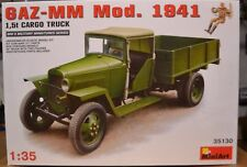 MINIART 35130 1:35th russe WWII GAZ-MM Mod 1941 1.5 T Cargo Truck & Figure