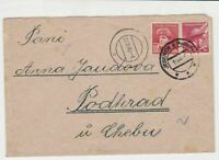 czechoslovakia 1945 stamps cover ref 21007