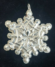 1971 Gorham Sterling Silver  Snowflake in Box
