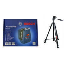 BOSCH GLL3X +  Laser Level Tripod BT150 Units of measurement m/cm/mm