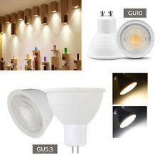 10X Dimmable GU10 GU5.3 COB LED Spotlight 5W Bulbs Light Replace 50W Halogen RD