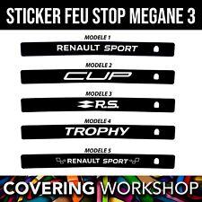 Sticker feu stop Renault Megane 3 RS Renault sport / GT / GT line